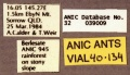 Prionopelta robynmae holotype ANIC32-039009 labels-Antwiki.jpg